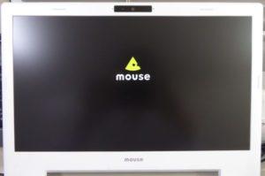 マウスコンピューターm-Bookモニター